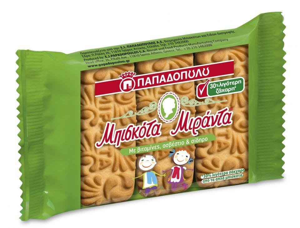 Μιράντα με 30% Λιγότερη Ζάχαρη σε fresh pack!