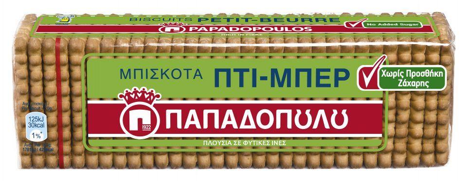 Νέα ΠΤΙ - ΜΠΕΡ Παπαδοπούλου Χωρίς Προσθήκη Ζάχαρης*