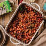 Ρεβίθια κοκκινιστά στο φούρνο με φινόκιο
