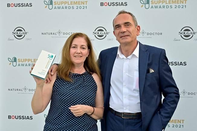 Χρυσή Διάκριση της WinMedica στα Supplement Awards 2021