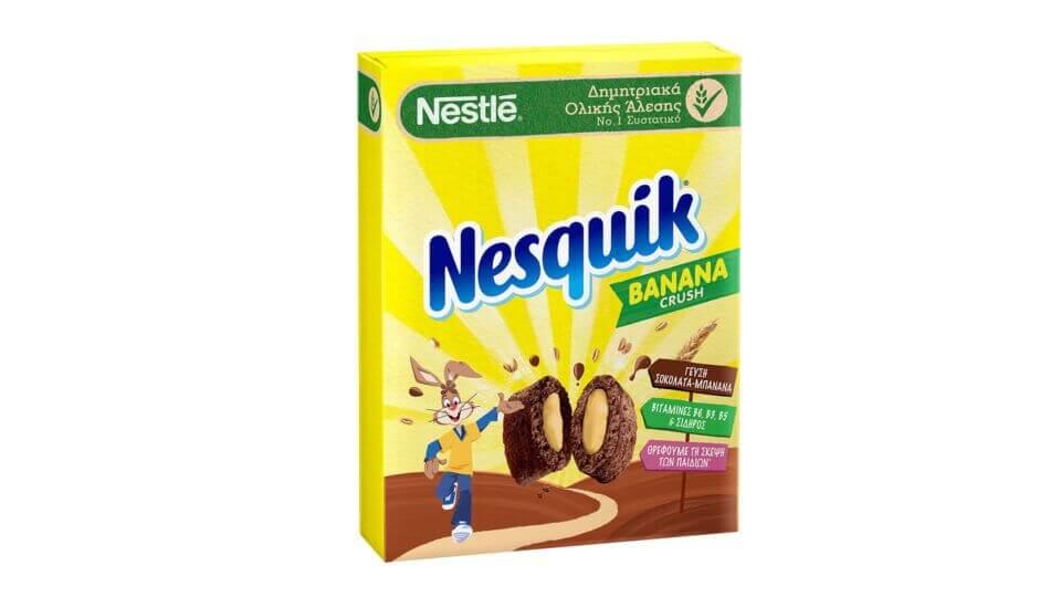 ΝΕΑ NESQUIK® Banana Crush!