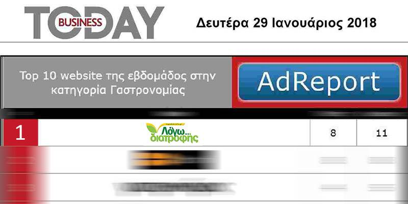 business today 1 top gastronomia ian18