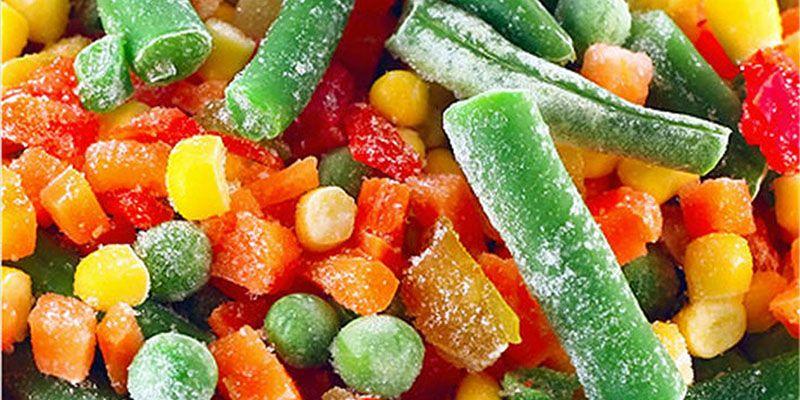 Φρέσκα ή Κατεψυγμένα φρούτα και λαχανικά