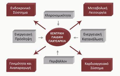 Κεντρική παιδική παχυσαρκία στην Ελλάδα