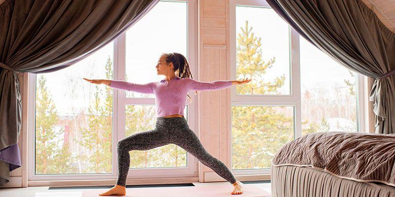 Κορωνοϊός   Γυμναστική στο σπίτι