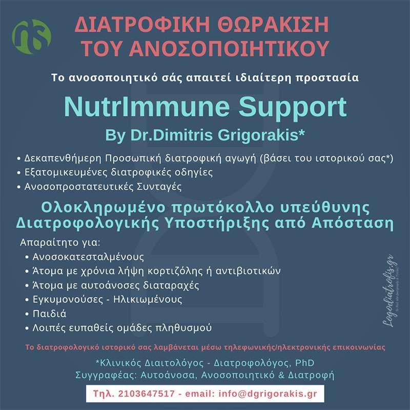 nutrimmune support grigorakis