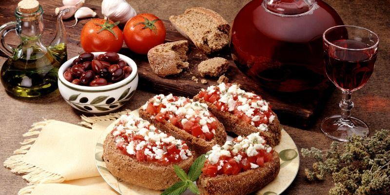 Παραδοσιακά κριθαρένια παξιμάδια 'το Μάννα' Τσατσαρωνάκη με τριμμένη ντομάτα